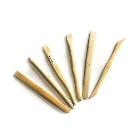 Стеки для работы с глиной и пластилином - 20 см