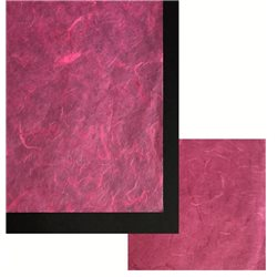 Бумага тутовая. 25 г/м2, 65х95 см /Цикламен