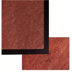 Бумага банановая. 35 г/м2, 65х95 см. /Красная