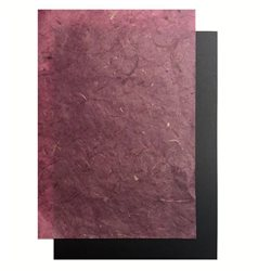 Бумага банановая. 35 г/м2, 65х95 см. /Темная фуксия