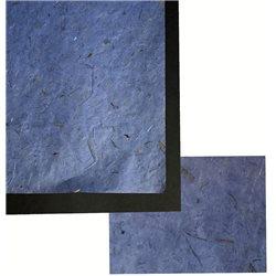 Бумага банановая. 35 г/м2, 65х95 см. /Голубая