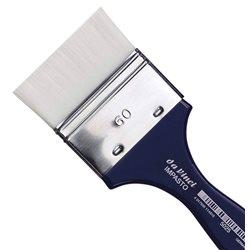 Кисть флейц Da Vinci 5025 IMPASTO/белая синтетика/экстра упругая/№60