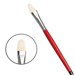 Овальная щетина № 8 ( длин. черно-красная ручка)