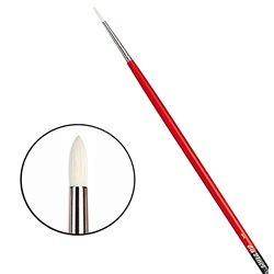 Щетина круглая 5723 № 1 Maestro2 длин.черно-красная ручка