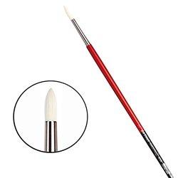 Щетина круглая 5723 № 3 Maestro2 длин.черно-красная ручка