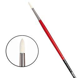 Щетина круглая 5723 № 5 Maestro2 длин.черно-красная ручка