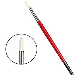 Щетина круглая 5723 № 6 Maestro2 длин.черно-красная ручка
