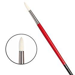 Щетина круглая 5723 № 7 Maestro2 длин.черно-красная ручка