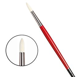 Щетина круглая 5723 № 8 Maestro2 длин.черно-красная ручка)