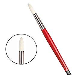 Щетина круглая 5723 №10 Maestro2 длин.черно-красная ручка