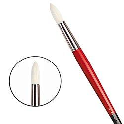 Щетина круглая 5732 №12 Maestro2 длин.черно-красная ручка