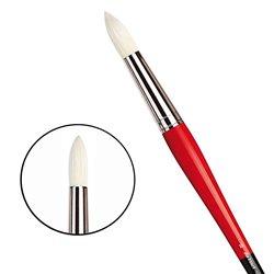 Щетина круглая 5723 №16 Maestro2 длин.черно-красная ручка