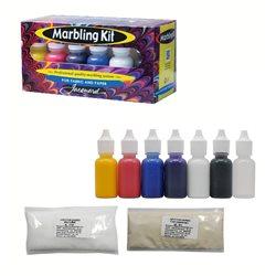 Набор красок для марморирования Marbling Kit Jacquard