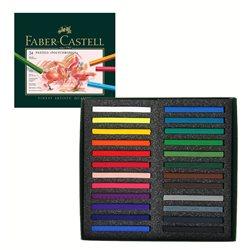 Набор пастели Polychromos 24 цв в картонной коробке