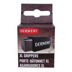 Держатель большой для угля и графита XL /2 шт в блистере (каучук)