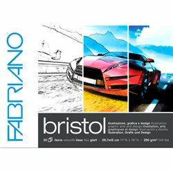 Блок бумаги Bristol 20 л, 29.7 х 42, 250гр