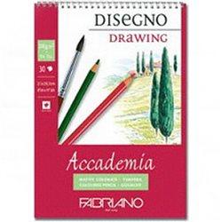 "Альбом д/графики ""Accademia"" 14,8х21см 30л 200г/спираль"