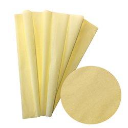 Бумага крепированная. 30 г/м2 , 200х50 см /Желтая бледная