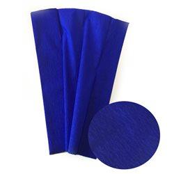 Бумага крепированная. 30 г/м2 , 200х50 см /Синяя