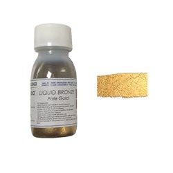 Пигменты бронзы на основе растворителя /60 мл/ светлый