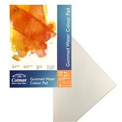 Альбом для акварельных красок Cotman, на склейке, холодного прессования, 425 гр/м2, 305х228 мм, 10л