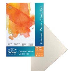 Альбом для акварельных красок Cotman, на склейке, холодного прессования, 425 гр/м2, 356х254 мм, 10л