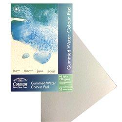 Альбом для акварельных красок Cotman, на склейке, холодного прессования, 190гр/м2, 254 х 177 мм, 20л