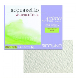 Склейка для акварели Artistico 23х30,5см., 300 г, 20л. (круп. зерно)