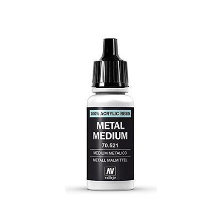191. Металлик медиум для 3-х типов краски: Model Air, Model Color и Game Color