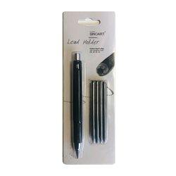 Набор- цанговый карандаш 5,6 мм+ 4 грифеля (НВ,2В,4В,6В) в блистере