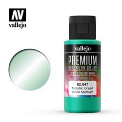 Краска акрил-уретановая Vallejo Premium/ металлик зеленый