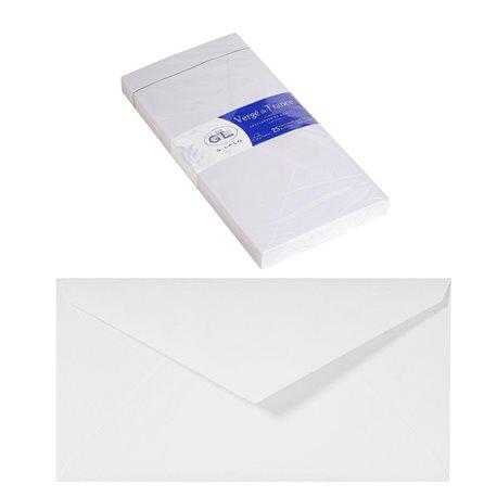 Конверт из бумаги Verge с клейкой полосой