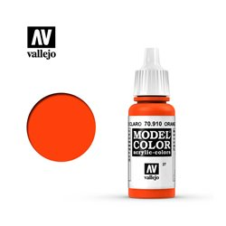 """027.""""Model Color"""" Красно-оранжевый. 910"""