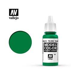 """188.""""Model Color"""" Зеленый прозрачный. 936"""