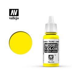 "011.""Model Color"" Лимонно-желтый 952"