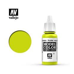 "078.""Model Color"" Желто-зеленый. 954"
