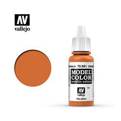 """131.""""Model Color"""" Оранжево-коричневый. 981"""