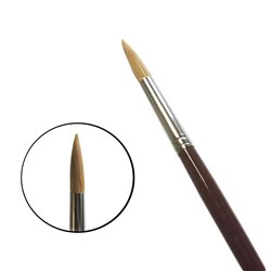Кисть круглая da Vinci 1650/ушной волос/дл. ручка/№ 20