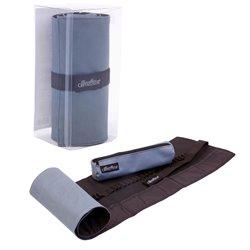 Пенал-свиток для 48 карандашей и аксуссуаров со съемным текстильным футляром