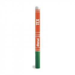 Маркер по текстилю DARWI Tex 3 мл/ Зеленый темный/ заострен. наконечн.