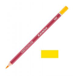 Карандаш цветной профессиональный KARMINA цвет 108 Хром жёлтый