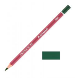 Карандаш цветной профессиональный KARMINA цвет 191 Зелёный оливковый тёмный