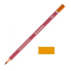 Карандаш цветной профессиональный KARMINA цвет 203 Охра тёмная