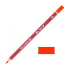 Карандаш цветной профессиональный KARMINA цвет 113 Красный светлый перманент