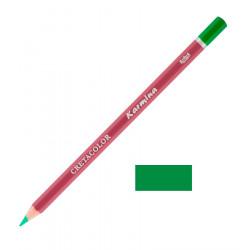 Карандаш цветной профессиональный KARMINA цвет 182 Зелёный торфяной темный