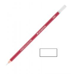Карандаш цветной профессиональный KARMINA цвет 101 Белый перманентный