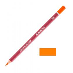 Карандаш цветной профессиональный KARMINA цвет 111 Оранжевый