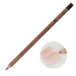 Карандаш Сангина жирная средняя, корпус круглой формы диаметром 7,5 мм, диаметр стержня 3,8 мм