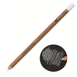 Карандаш Белый мел, корпус круглой формы диаметром 7,5 мм, диаметр стержня 3,8 мм, твердость 1 (мягкий)