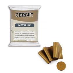 """Полимерный моделин """"Cernit Metallic"""" 56гр. бронза античная"""
